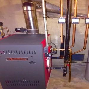 Boiler installation in Vernon CT